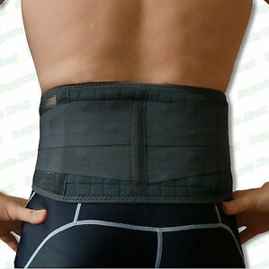 Details About Magnetic Back Support 20 Pain Relief Magnets Lower Lumbar Brace Belt Strap