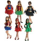 Girl Supehero Costumes Kids Halloween Fancy Dress