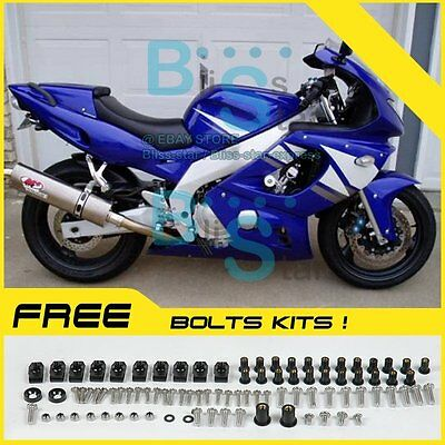 Fairings Bodywork Bolts Screws Set For Kawasaki Ninja ZX-6R 2000-2002 50 G6
