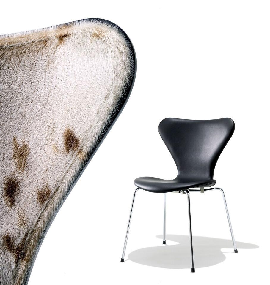 Arne Jacobsen med sælskind
