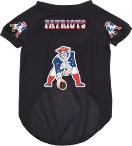 New New England Patriots Pet Dog Football Jersey Throwback