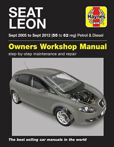 seat leon repair manual haynes manual workshop service manual 2005 rh ebay co uk Seat Leon Diesel Seat Leon Diesel