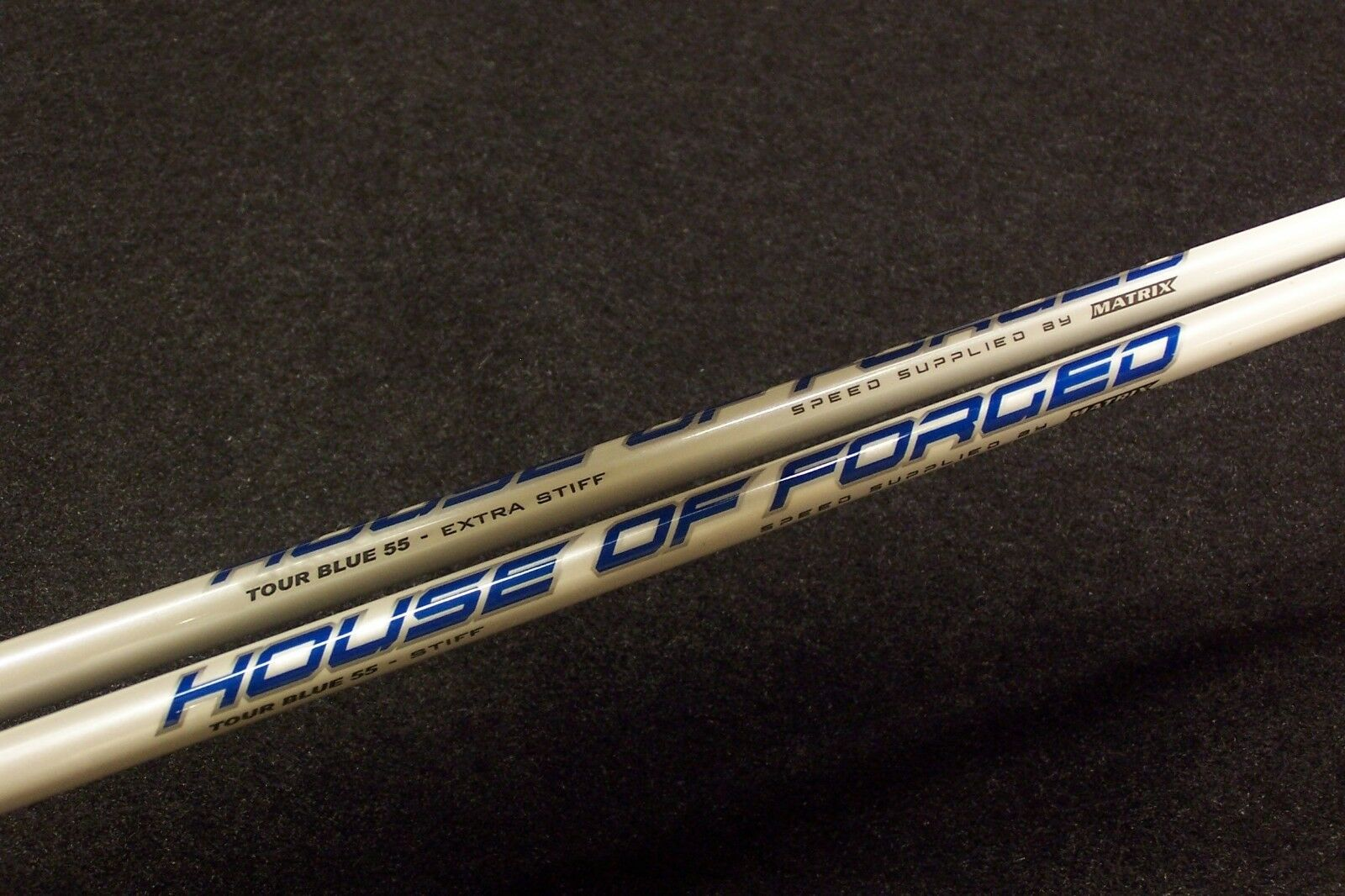 House of forged Tour Azul 55  (X) - Flex con Taylormade R15 M1 M2 M3 M4 M5 M6 Adaptador  exclusivo