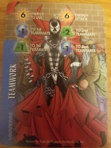 Marvel Overpower Image Spawn Heavy Weapons NrMint-Mint Card