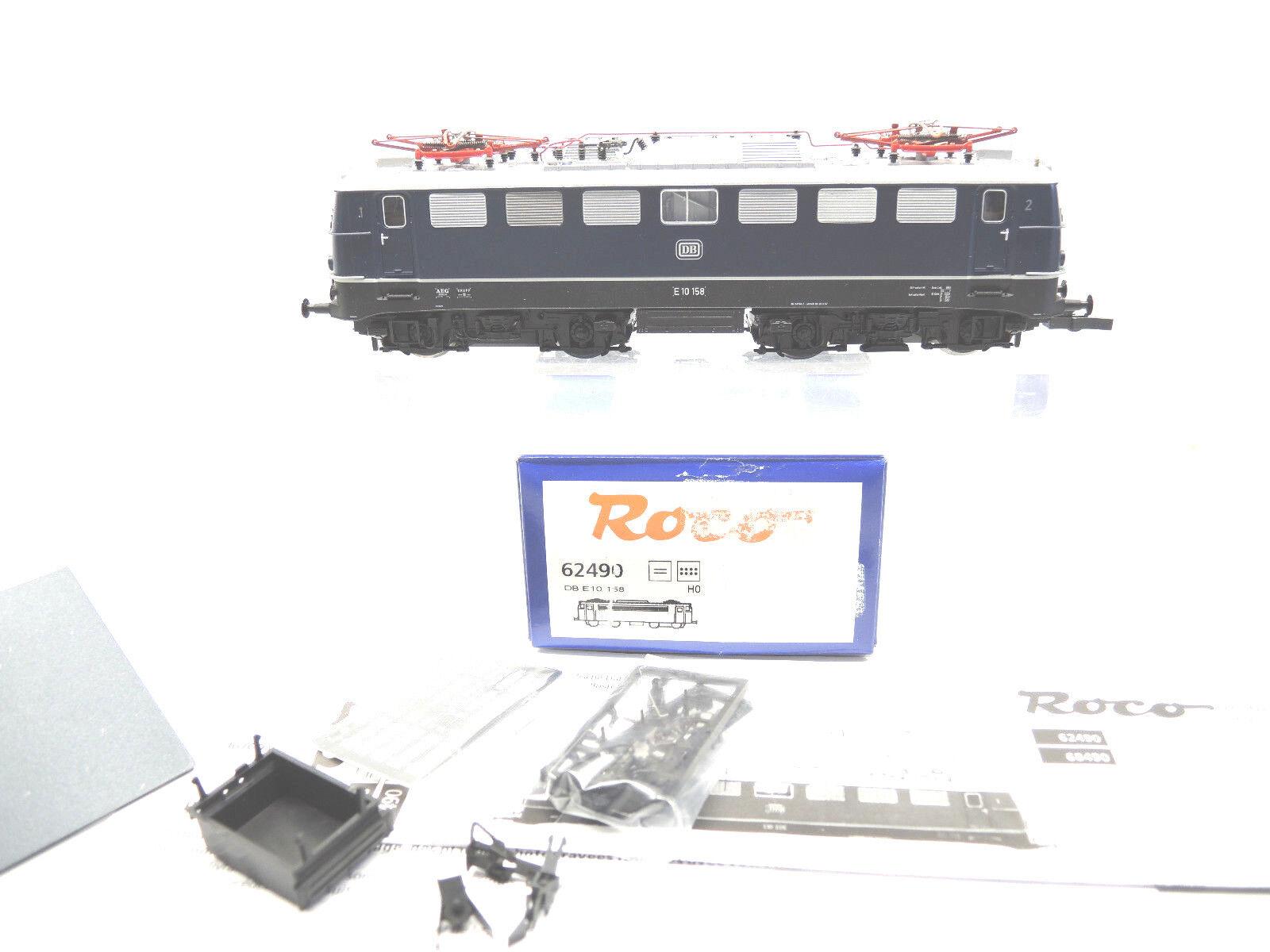 ROCO 62490 E-Lok, br e10 158 della DB, blu, digitale, digitale, digitale, ESU, TOP, OVP  36  44b76c
