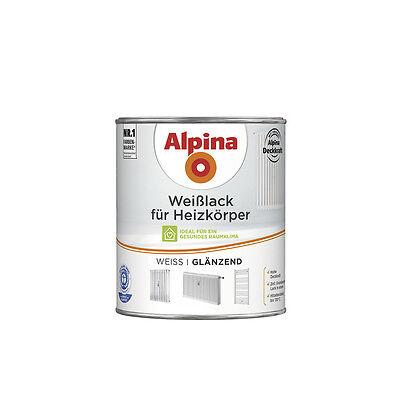 Alpina Weißlack für Heizkörper - Speziallack für den Anstrich v. Heizkörpern
