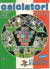 ALBUM CALCIATORI RISTAMPA L'UNITA' ANNO 1974-75