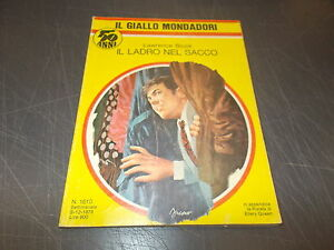 IL-GIALLO-MONDADORI-1610-LAWRENCE-BLOCK-IL-LADRO-NEL-SACCO-DICEMBRE-1979