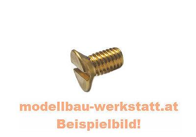 50 Stück Senkkopfschrauben Schlitz  DIN 963 M3x8 V2A  M3 x 8