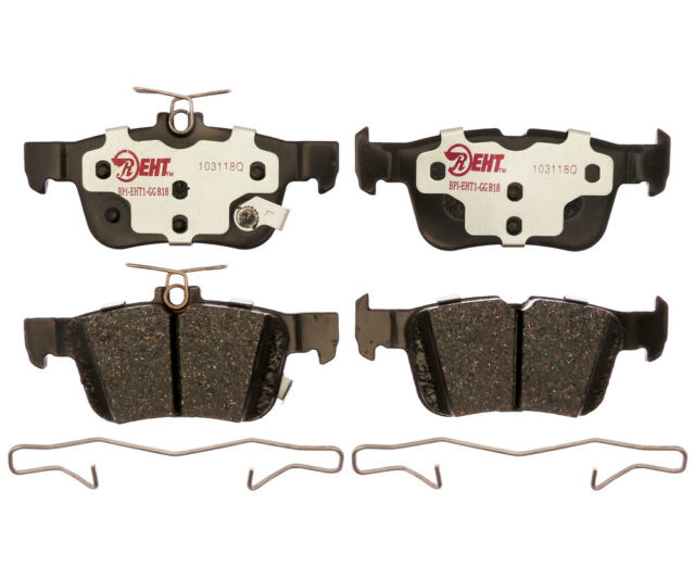 Disc Brake Pad Set Rear Raybestos EHT1665H