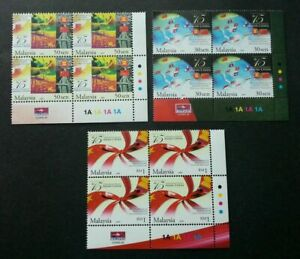 SJ-15th-Anniv-Of-Asean-China-Dialogue-Malaysia-2006-stamp-blk-4-MNH-c-scan