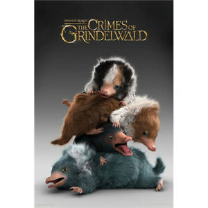 Fantastic-Beasts-2-Baby-Nifflers-POSTER-61x91cm-NEW-The-Crimes-of-Grindelwald