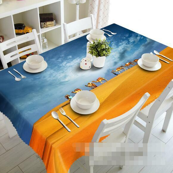 3D Desert 799 Tablecloth Table Cover Cloth Birthday Party Event AJ WALLPAPER UK