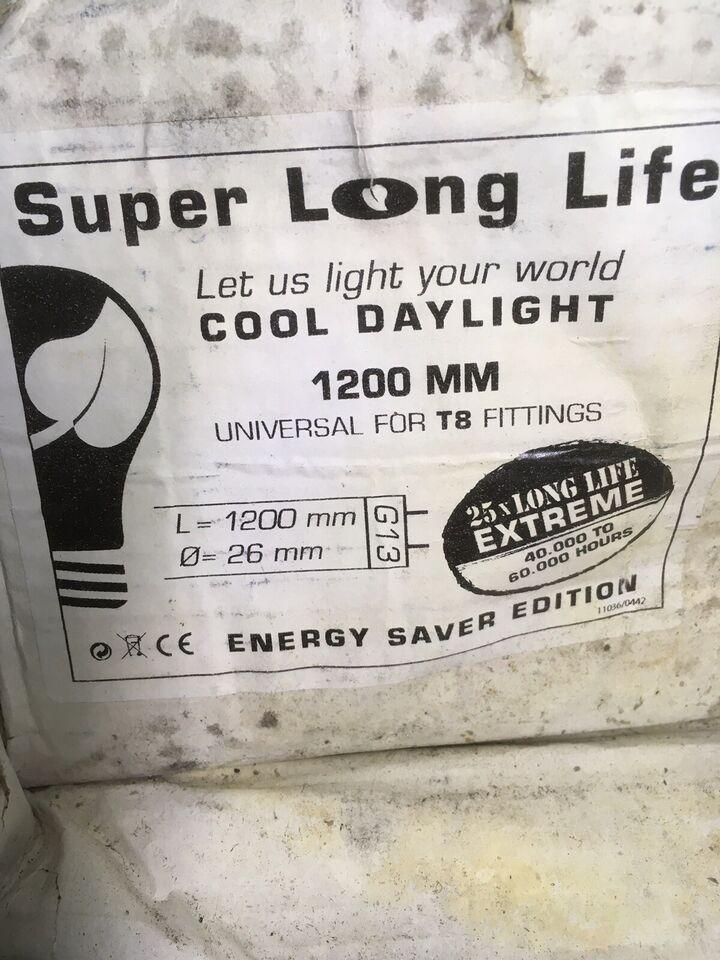Lysstofrør 1200mm - LONG LIFE, Let us light your World