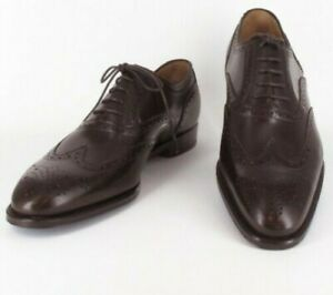 Sutor Mantellassi Marron Chaussures - Bout Lacet - Taille 7.5 (US) / 8.5 ( Ue )