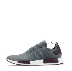 Details about adidas Originals NMD R1 Wool Men's Trainers Shoes Grey/ Purple