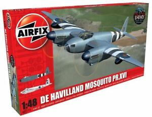 Airfix-Products-7112-1-48-De-Havilland-Mosquito-PR-XVI-Aircraft