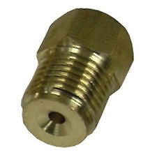 9/16-18 Male x 3/8-24 Female Inverted Flare Master Cylinder Brake Line Adapter