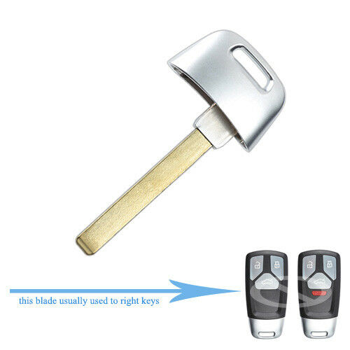 10 Replacement Smart Insert Emergency Key Blade for 2017 18 Audi SQ7 Q7 TT A4 A5
