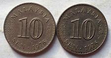 Parliament Series 10 sen coin 1976 2 pcs