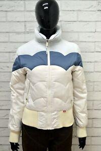 Giubbino-LEVIS-RED-TAB-Donna-Taglia-Size-S-GIubbotto-Giacca-Jacket-Woman-Bianco