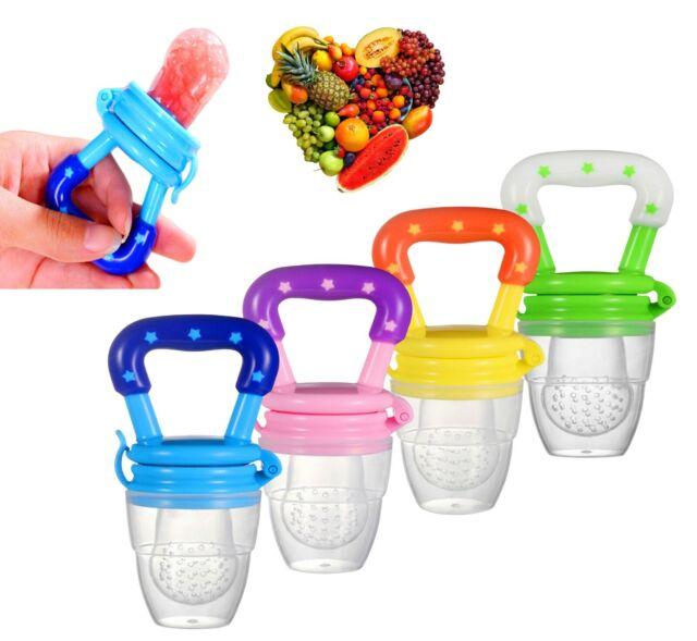 Baby Pacifier Fresh Food Vegetable Fruit Feeder For Infant Kids Feeding Tool UK