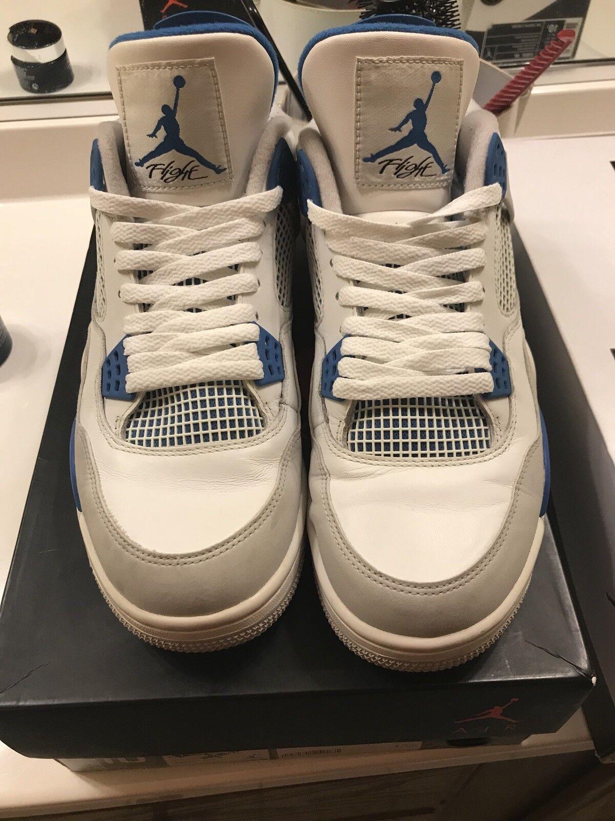 Air Jordan Jordan Jordan 4 Retro  Military Blau  2012 Release 5d1390