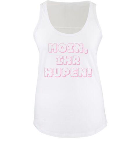 Comedy ShirtsMOIN IHR HUPEN!Damen Tank Top