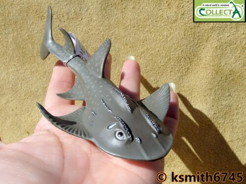 Collecta tiburón Ray Plastic Toy Wild Zoo Mar Peces Marinos Animal Guitarra nuevo