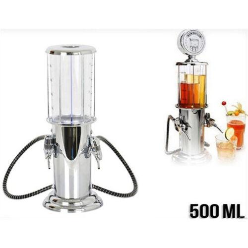 Gas Station Design Double Gun Liquor Beer /& Beverage Dispenser 500ML