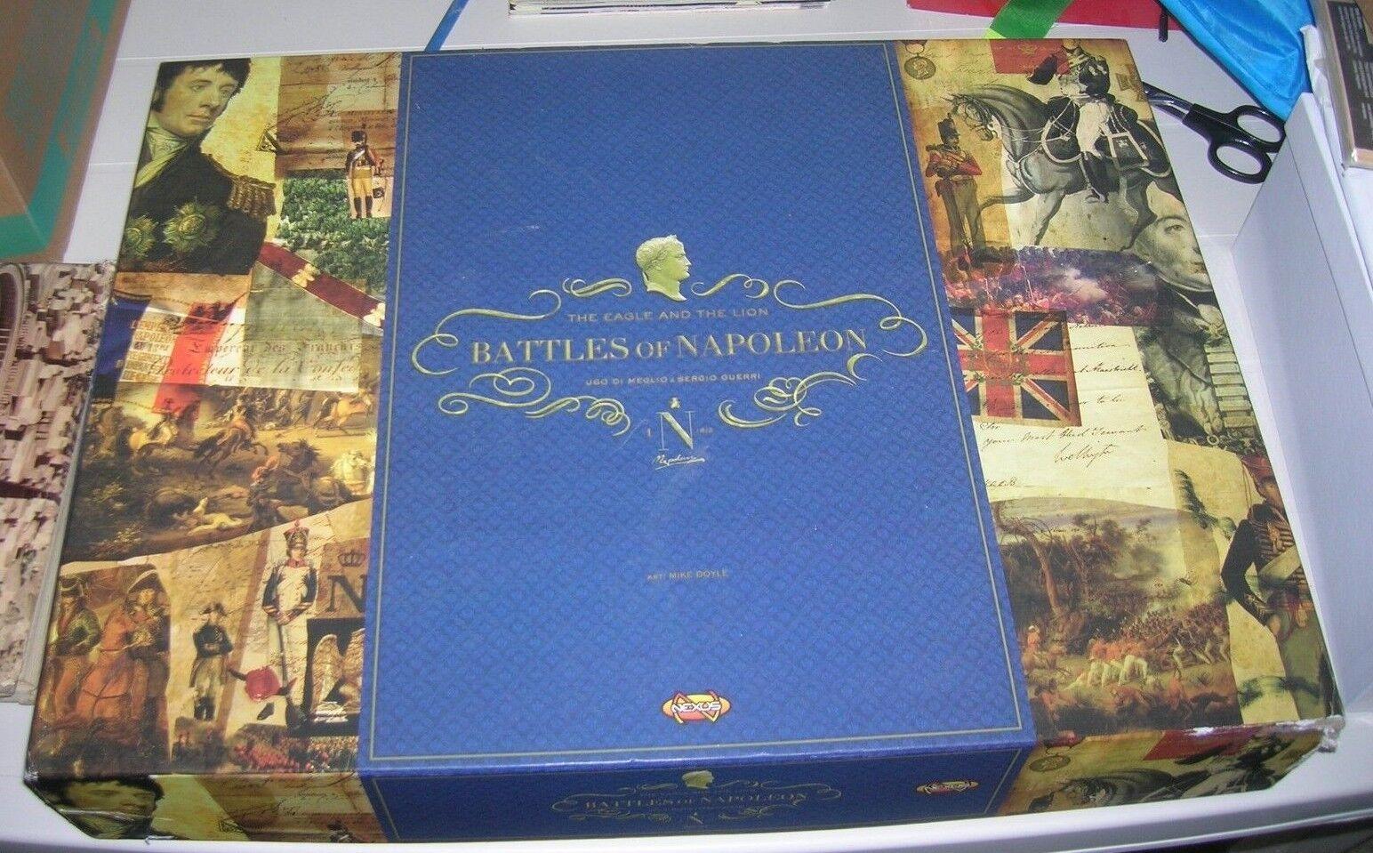 BATTLES OF NAPOLEON  THE EAGLE AND THE LION  - ITALIANO - mai giocato