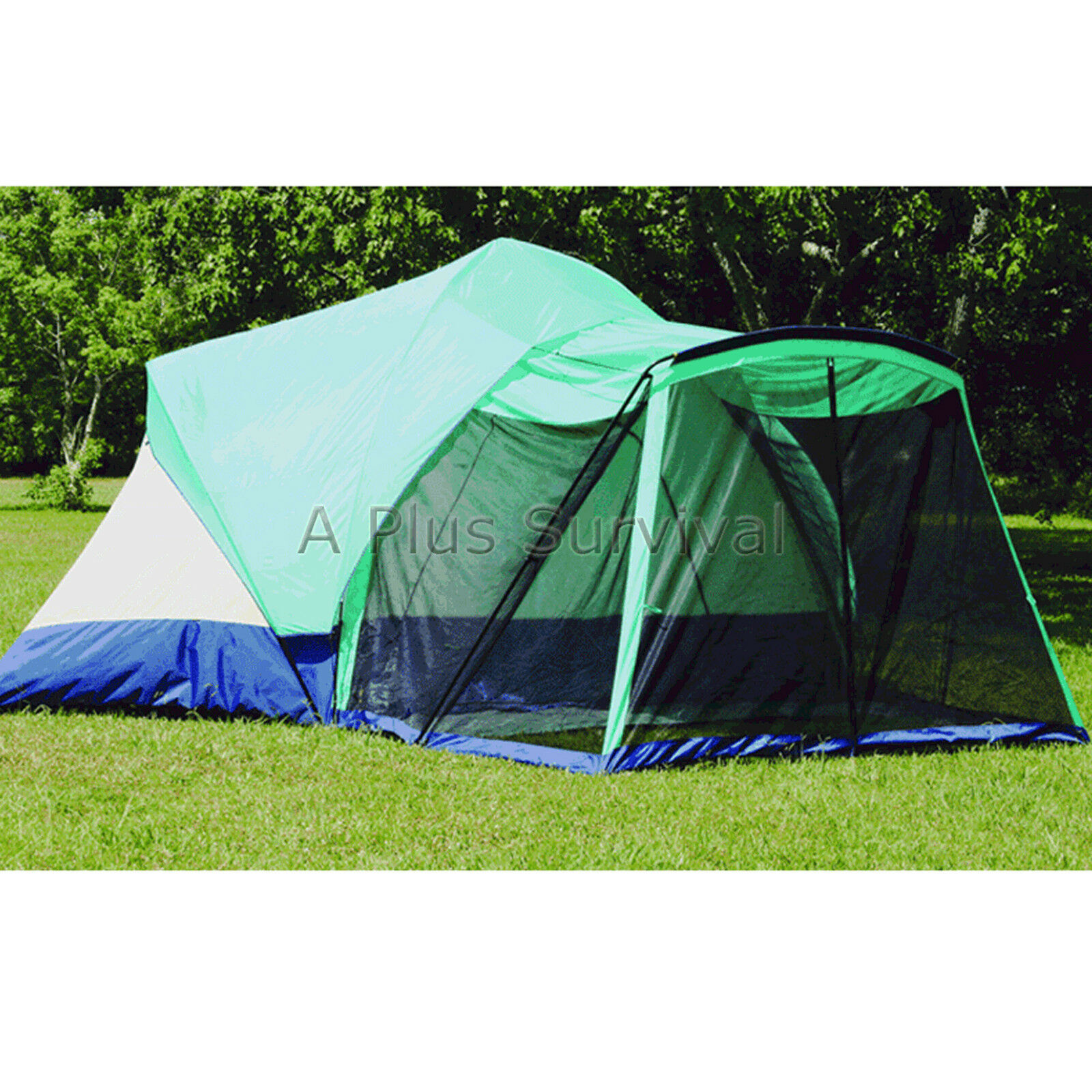 Texsport Meadow Breeze 8 Person Tent with Screen Porch