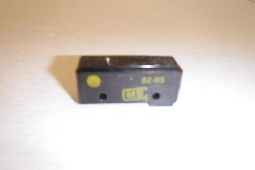 5A 250VAC LIMIT SWITCH NNB MICRO SWITCH BZ-R5 TYPE Z 10A 125V