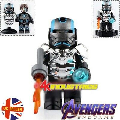 Avengers Iron Man Lego Fit Mini Figure MK Gold Armour Marvel End Game UK Seller