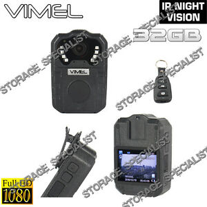 Body camera police security guard recorder dvr pocket full hd 1080p night vision ebay - Security guard hd images ...