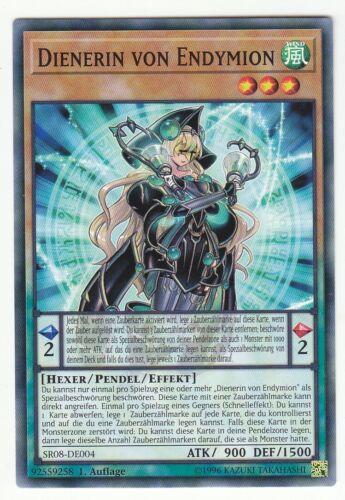 Yu-GI-OH Dienerin von Endymion Common SR08-DE004 NEU!