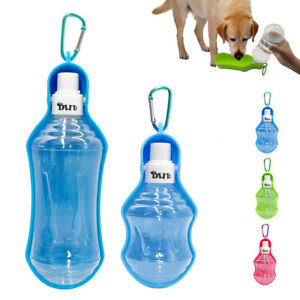 Dishes, Feeders & Fountains Pet Supplies Pet Dog Cat Automatic Food Supply 2 In 1 Bowl Bottle Drinking Feeding Bowls Tall Traveling