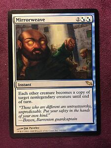 Mirrorweave-Shadowmoor-VO-MTG-Magic-NM