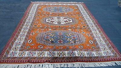 Orient Nomaden Teppich handgeknüpft Turkmen Kazak exklusive Unikat 200 x 130 cm