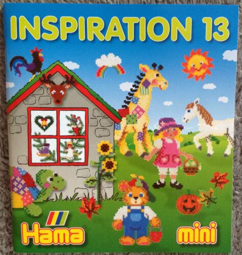Inspiration 13 Bügelperlen mini Perlen 2,5mm Vorlagen Hama