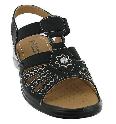 CUSHION WALK leicht flexibel Comfort Open Toe Sommer Damen Sandalen Schuhe
