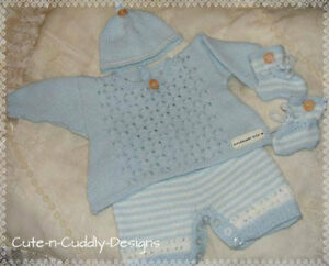 Baby /Reborn doll designer knitting pattern ..Angel top ...
