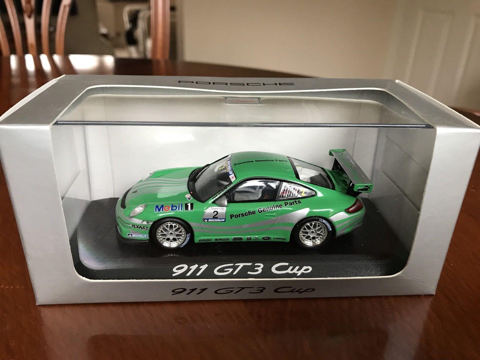 Rare Porsche Dealer 911 GT3 Cup (997). Mobile Minichamps 1 43 Diecast