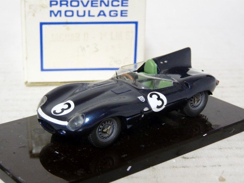Provence Moulage 1 43 Jaguar D Type Le Mans Resin Handmade Model Kit Car