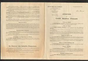 PARIS-IX-Arrt-BANQUE-034-CREDIT-MOBILIER-FRANCAIS-034-en-1910