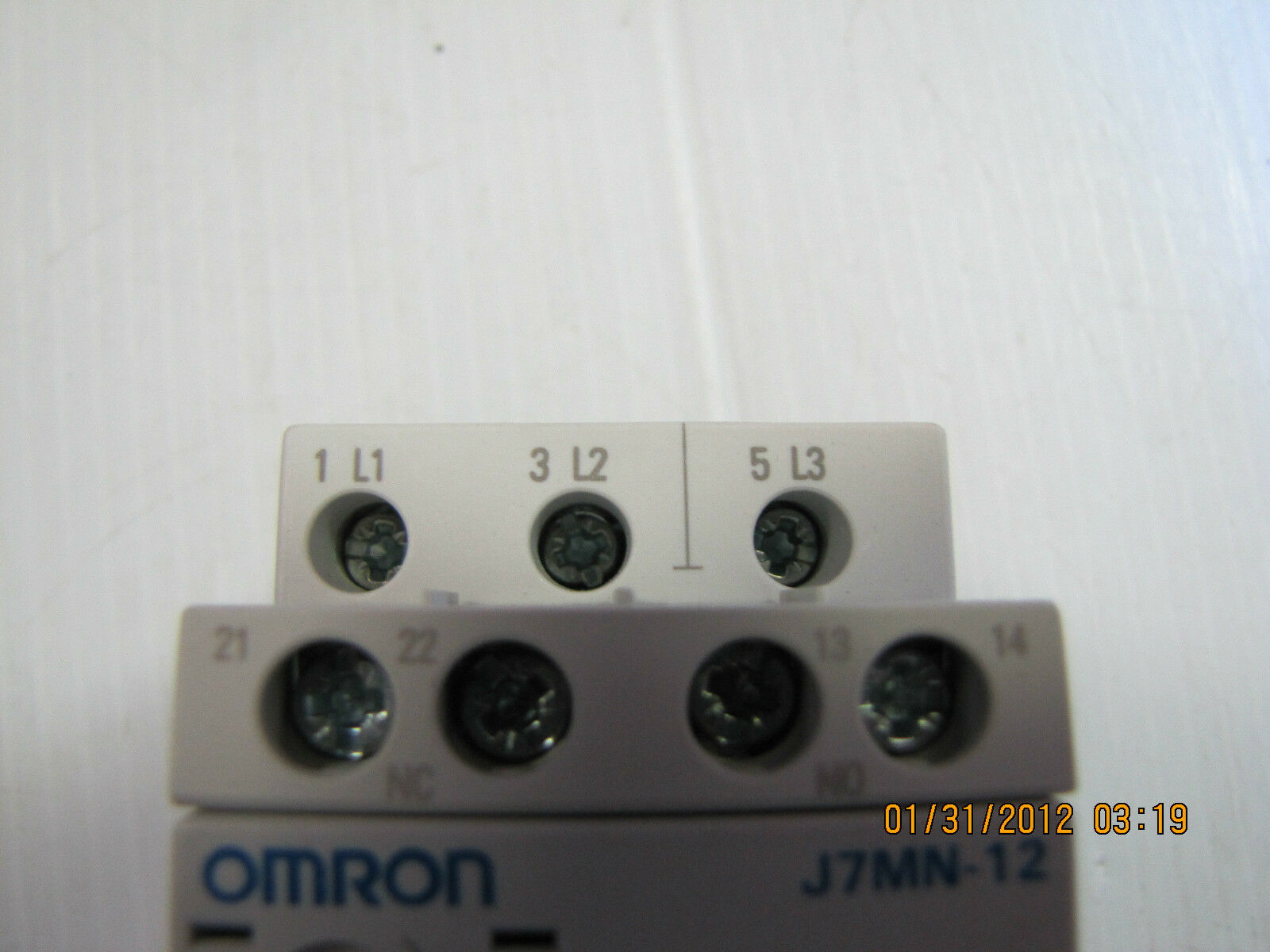 NEW OMRON MOTOR STARTER PROTECTOR J7MN-12 J7MN12 13A 13 A AMP