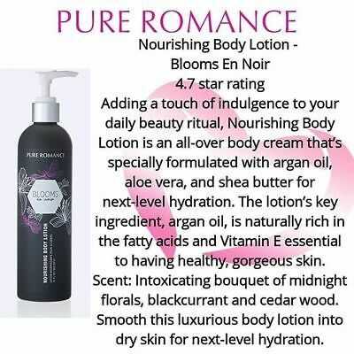Pure Romance Nourishing BODY LOTION. NEW | eBay