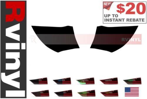 Sedan Rtint Tail Light Tint Precut Smoked Film Covers for Saturn Ion 2003-2007
