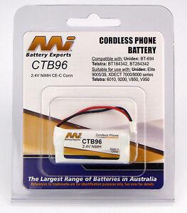 Uniden-XDECT-7015-7055-8005-8005WP-8015-Cordless-Phone-Battery-NiMH-CTB96-BP1