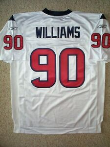 AUTHENTIC Houston Texans MARIO WILLIAMS nfl GAME Jersey Adult ...